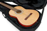 Gator Rigid EPS Polyfoam Lightweight Case for Classical Guitars - Rugged Hard Cases
