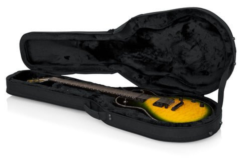 Gator Lightweight Case for Single Cutaway Electrics like Gibson Les Paul - Rugged Hard Cases
