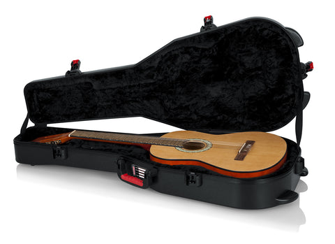 TSA Series ATA Molded Polyethylene Guitar Case for Classical Style Guitars