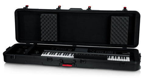 TSA Series ATA Molded Case for Slim Extra Long 88-note Keyboards