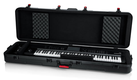 TSA Series ATA Molded Case for Slim 88-note Keyboards