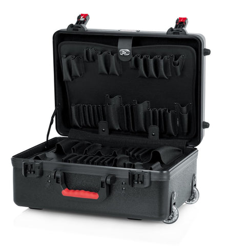 "Gator TSA Series ATA Molded Utility Case (18""x13""x7"") + 2 Tool Trays - Rugged Hard Cases"