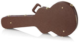 Gator Deluxe Wood Case for Semi-Hollow Guitars like Gibson 335 - Rugged Hard Cases