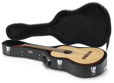 Gator Deluxe Wood Case for Classical Guitars - Rugged Hard Cases
