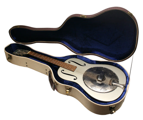 Gator Deluxe Wood Case for Resonator Guitars - Rugged Hard Cases