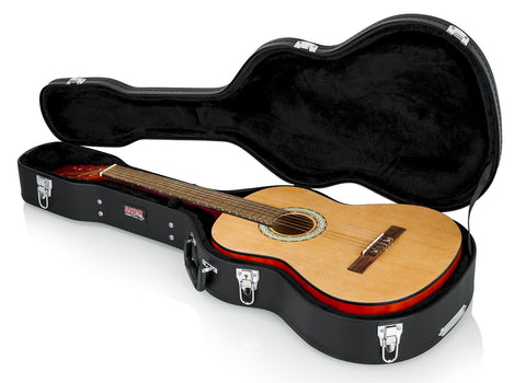 Gator Hard-Shell Wood Case for Classical Guitars - Rugged Hard Cases