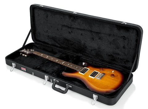 Gator Hard-Shell Wood Case for PRS and Wide Body Style Guitars - Rugged Hard Cases