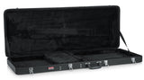 Gator Hard-Shell Wood Case for Extreme Guitars like Flying V or Explorer - Rugged Hard Cases