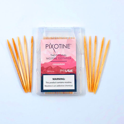 Nicotine Toothpicks