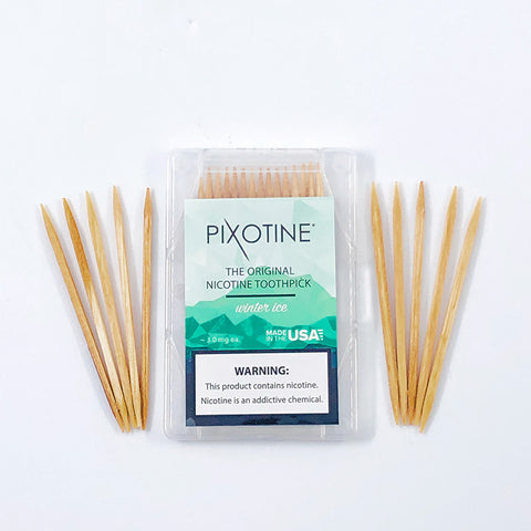 Pixotine - Winter Ice (15 Nicotine Toothpicks)