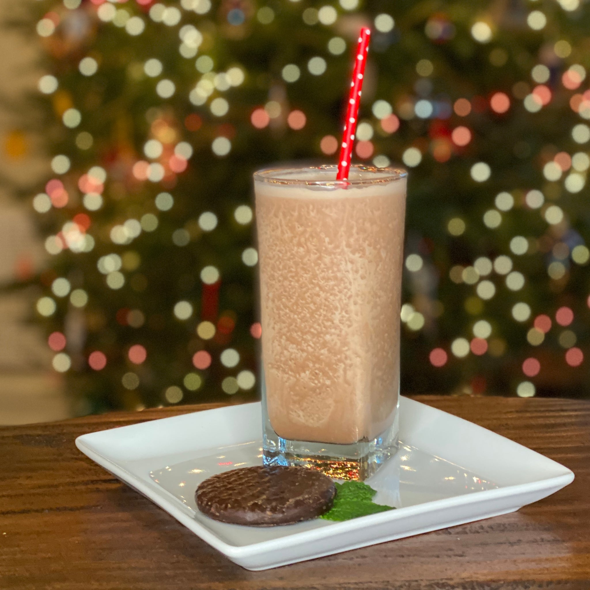 Peppermint Patty Holiday Shake