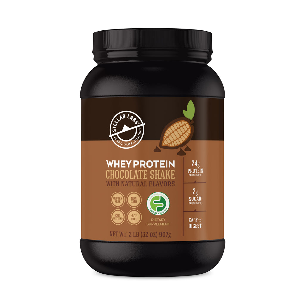 Chocolate Whey Protein Shake