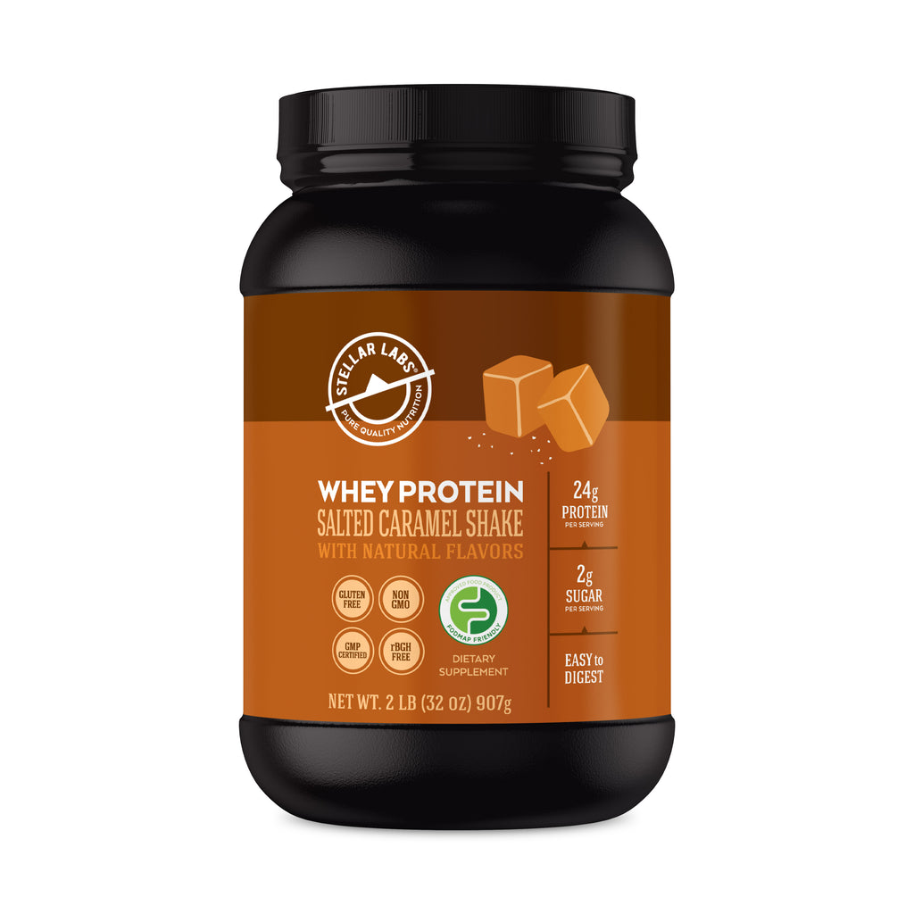 Whey Protein Salted Caramel Shake