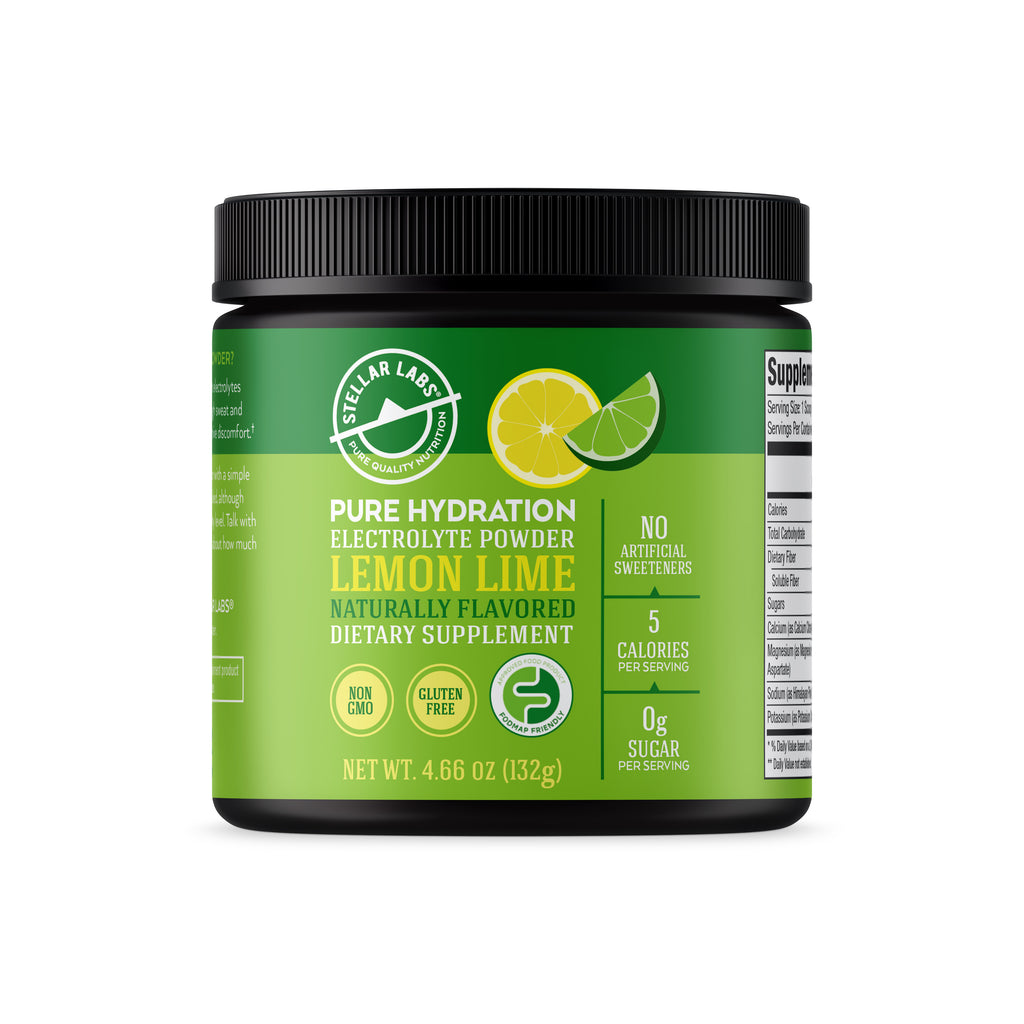Supplements: Lemon Lime Electrolyte Powder