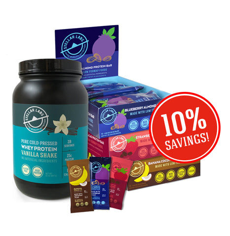 Heart-Healthy Low FODMAP Eating System Starter Pack - Stellar Labs®
