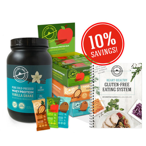 Heart Healthy Gluten-Free Eating System Starter Pack - Stellar Labs®