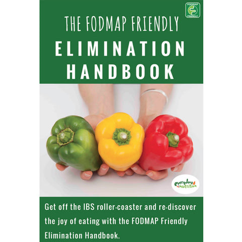 E-Book: FODMAP Elimination Handbook