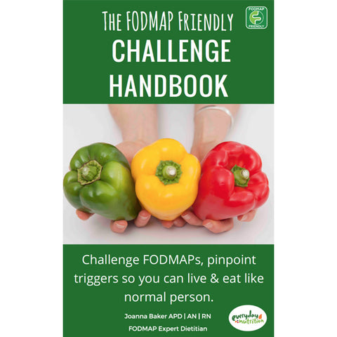 E-Book: The FODMAP Friendly Challenge Handbook