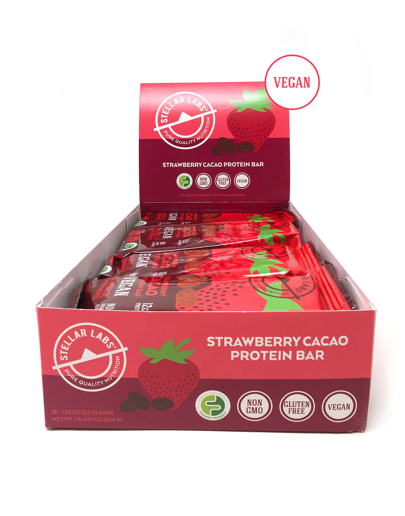 Strawberry Cacao Case | 12 Bars