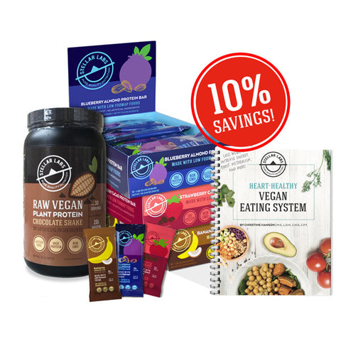 Heart-Healthy Vegan Eating System Starter Pack - Stellar Labs®