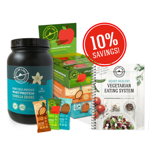 Heart-Healthy Vegetarian Eating System Starter Pack - Stellar Labs®