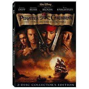 DVD | Pirates Of The Caribbean: Curse Of The Black Pearl,Widescreen,The CD Exchange