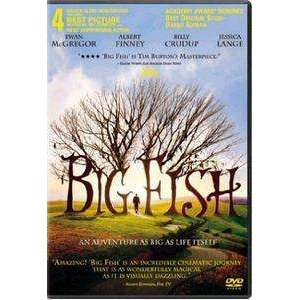 DVD - Big Fish - Widescreen Movie - The CD Exchange