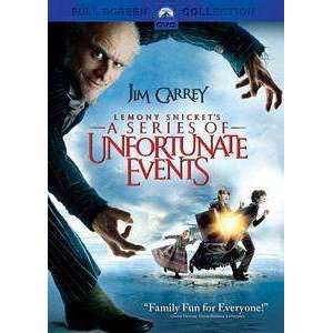 DVD - Lemony Snicket's A Series Of Unfortunate Events (Fullscreen) - The CD Exchange
