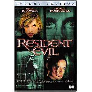 DVD | Resident Evil (Deluxe Edition),Widescreen,The CD Exchange