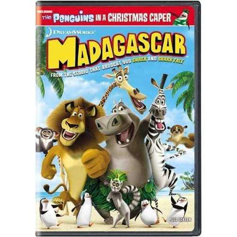 DVD | Madagascar (Fullscreen) - The CD Exchange