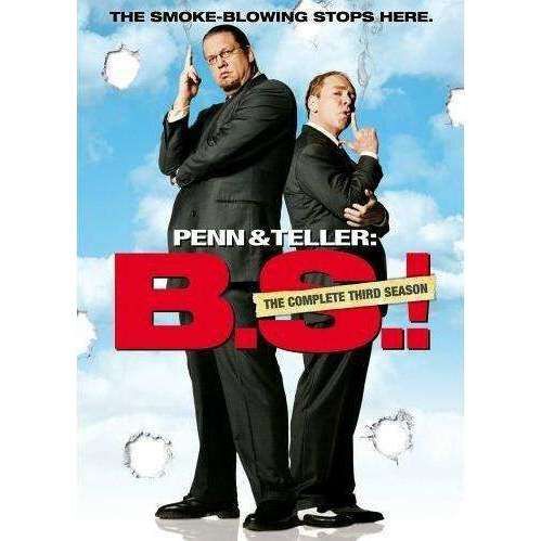 DVD | Penn & Teller: Bullsh*t: Season 3,Fullscreen,The CD Exchange