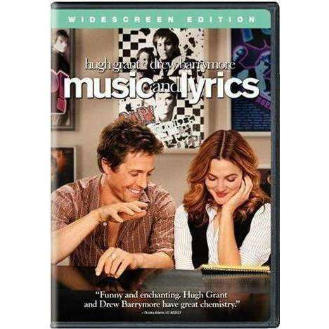 DVD | Music And Lyrics (Widescreen),Widescreen,The CD Exchange