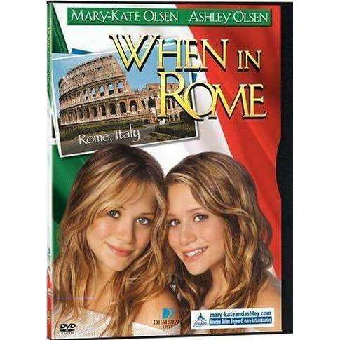 DVD | When In Rome (Mary-Kate & Ashley Olsen),Fullscreen,The CD Exchange