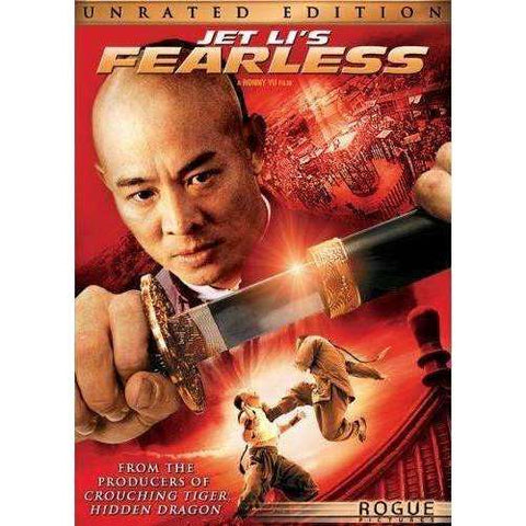 DVD | Jet Li's Fearless (Unrated Widescreen),Widescreen,The CD Exchange