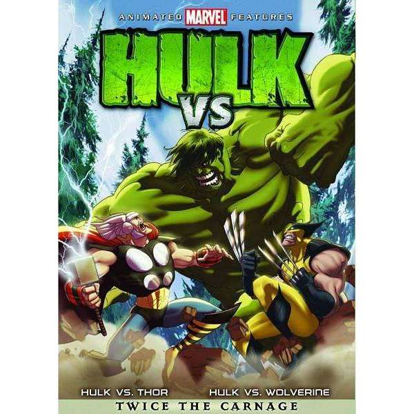 DVD | Hulk Vs. - The CD Exchange
