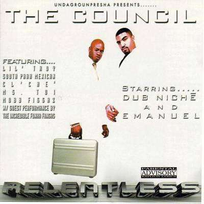 Council, The | Relentless,CD,The CD Exchange