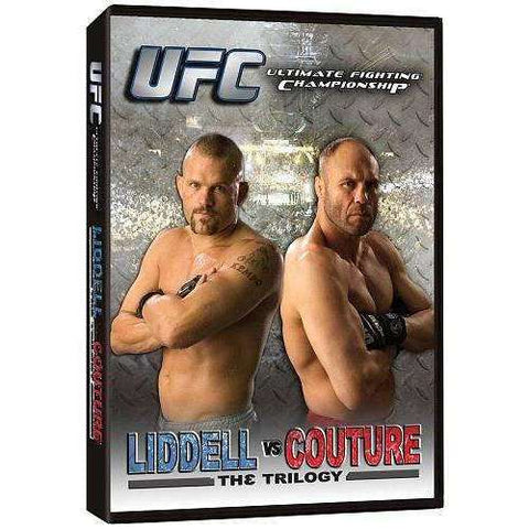 DVD | UFC: Liddell vs. Couture: The Trilogy - The CD Exchange