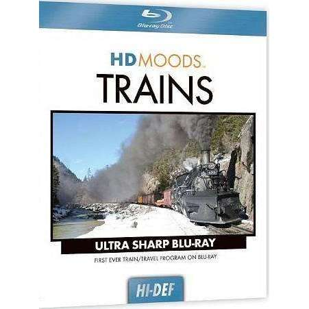Blu-ray | HD Moods: Trains,Widescreen,The CD Exchange
