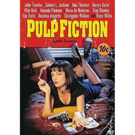 DVD | Pulp Fiction,Widescreen,The CD Exchange