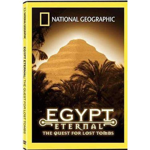 DVD | Egypt Eternal: The Quest For Lost Tombs (National Geographic),Widescreen,The CD Exchange