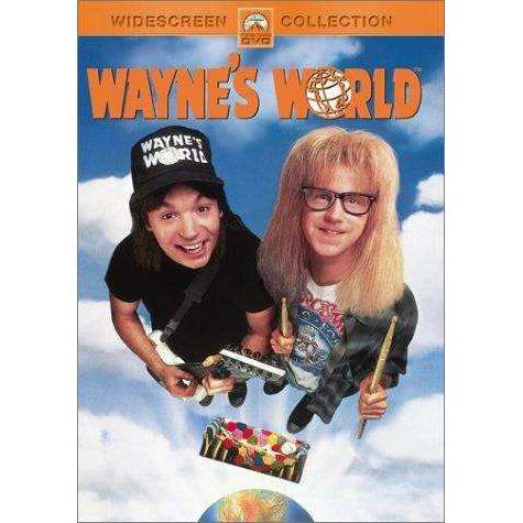 DVD - Wayne's World - Widescreen Movie - The CD Exchange