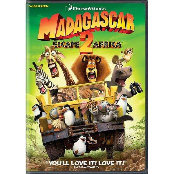 DVD - Madagascar: Escape 2 Africa - Widescreen Movie - The CD Exchange