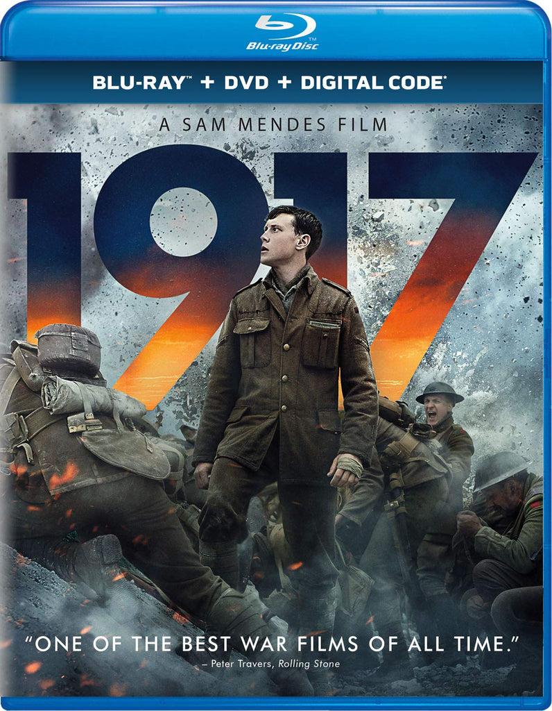 1917 Blu-ray + DVD + Digital,The CD Exchange