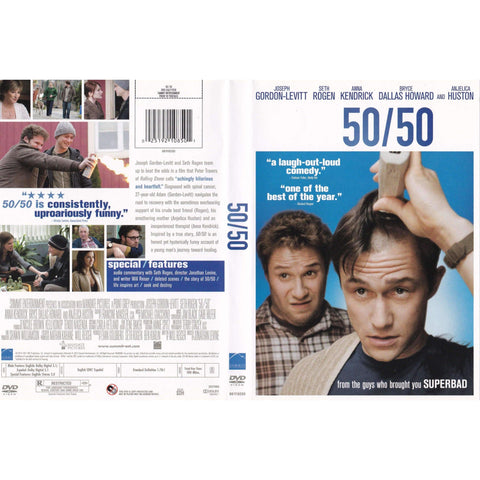 50/50 - Used DVD,The CD Exchange