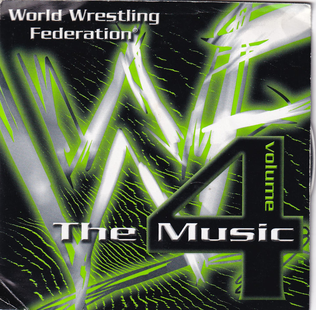 Soundtrack - (WWF) WWE The Music, Vol. 4 - Clearance CD - The CD Exchange