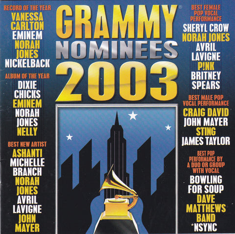 Various Artists - Grammy Nominees 2003 - CD - The CD Exchange