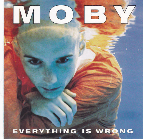 Moby - Everything Is Wrong - CD - The CD Exchange