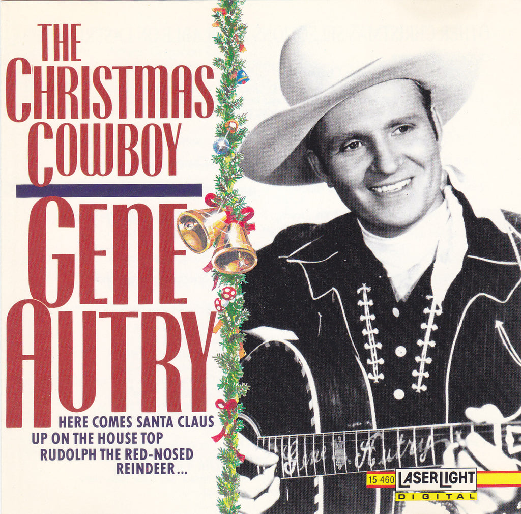 Gene Autry - The Christmas Cowboy - CD - The CD Exchange