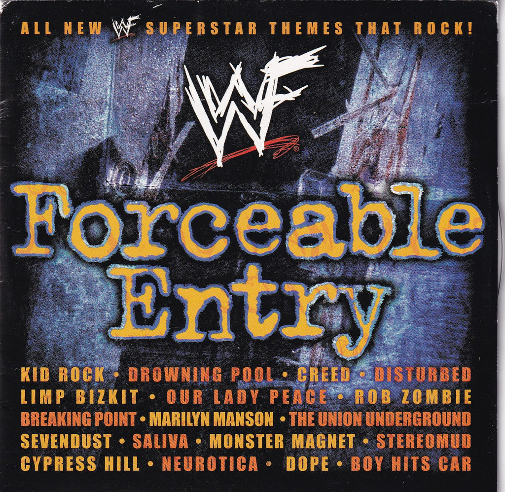 Soundtrack - (WWF) WWE Forceable Entry - Clearance CD - The CD Exchange