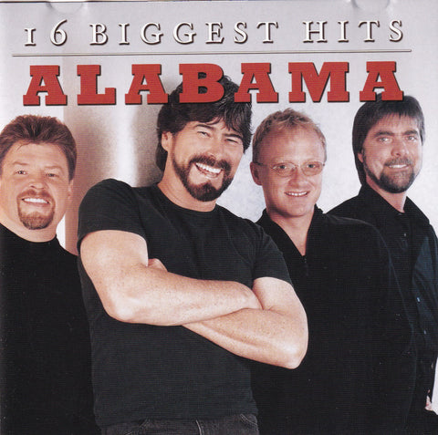 Alabama - 16 Biggest Hits - Used Country Music CD - The CD Exchange